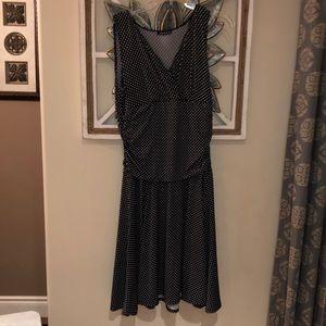 BOGO FREE Flirty Jessica knee polka dot dress 12